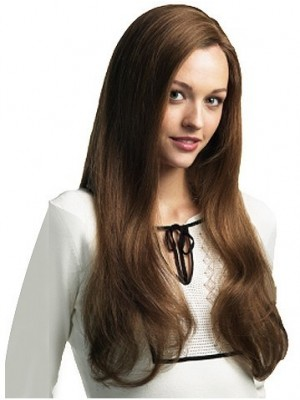 Magnificent Long Straight Remy Human Hair Wig