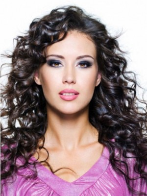 Charming Amazing Lace Front Wavy Remy Human Hair Wig