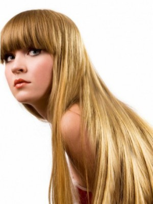 Luxury Capless Straight Incredible Remy Human Hair Wig