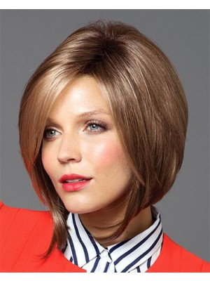 Fashionable Lace Front Bob Hairstyle Human Hair Wig