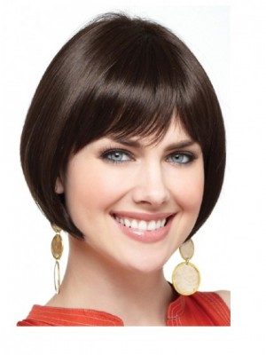 Admirable Lace Front Straight Short Wig