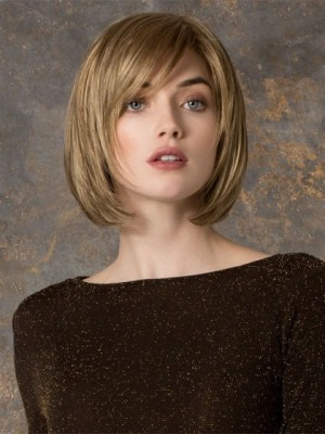 Marvelous Blonde Lace Front Bob Human Hair Wig