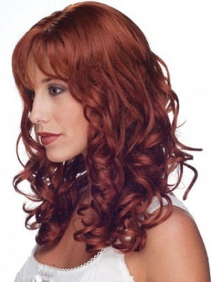 Nice-looking Long Wavy Full Lace Remy Hair Wig