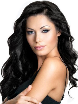 Full Lace Classic Wavy Silky Human Hair Wig