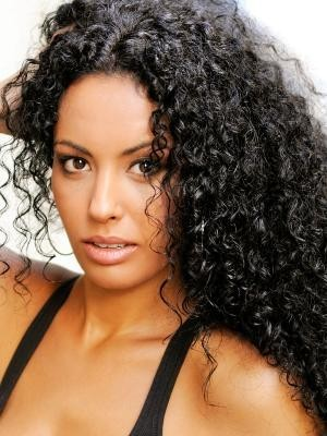 Silky Human Hair Water Curly Full Lace Wig