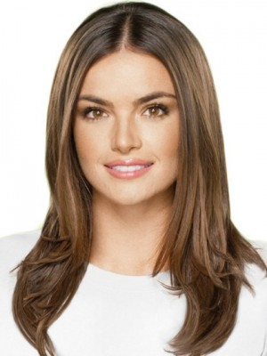 Amazing Straight Long Full Lace Human Hair Wig