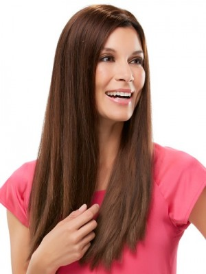 Attractive Silky Long Lace Front Straight Wig
