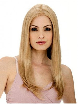 Sweet Straight Long Full Lace Human Hair Wig