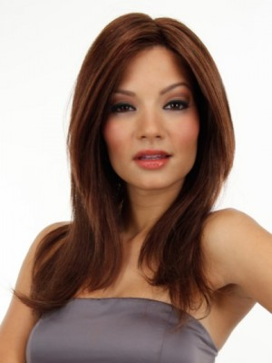 Pretty Silky Straight Lace Front Human Hair Wig