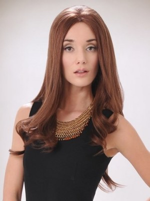 Durable Long Human Hair Lace Front Wig