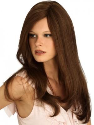 Natural Straight Human Hair Capless Wig