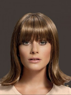 Polished Silky Straight Human Hair Capless Wig