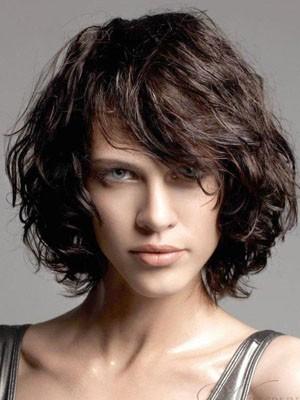 Wonderful Wavy Remy Human Hair Capless Wig