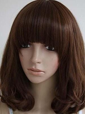 Graceful Wavy Remy Human Hair Capless Wig