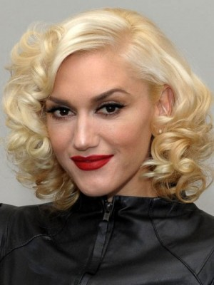 Stunning Medium Length Wavy Lace Front Human Hair Wig