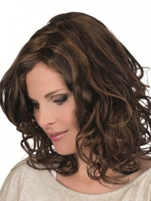 Classic Magic Hand-Tied Lace Front Mono Top Wavy Wig