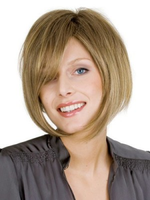 Nice Bob Style Straight Human Hair Wig