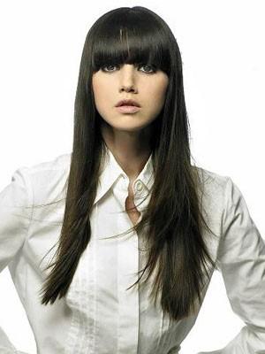 Nice-looking Long Straight Capless Human Hair Wig