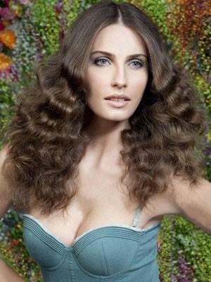 Stunning Long Lace Front Wavy Human Hair Wig