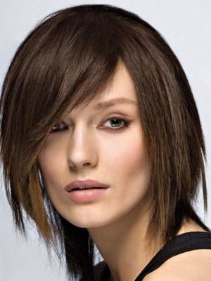 Impressive Short Straight Capless Human Hair Wig