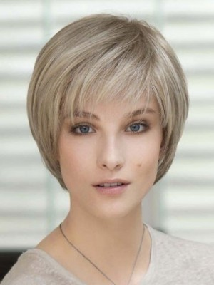 2018 New Style Short Full Lace Fantasy Remy Human Hair Wig