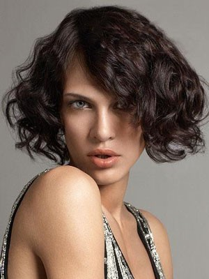 Attractive Wavy Human Hair Lace Front Wig