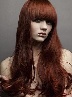 Stylish Capless Human Hair Wavy Wig