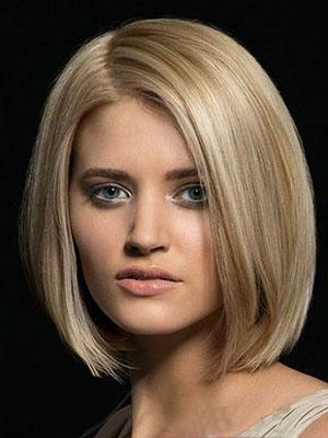 Attractive Lace Front Straight Remy Human Hair Wig