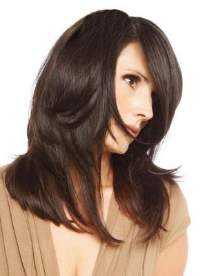 Dazzling Straight Long Capless Human Hair Wig