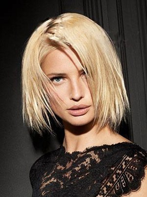 Charming Remy Human Hair Capless Straight Wig