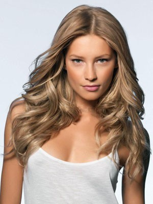 Adorable Wavy Lace Front Human Hair Wig
