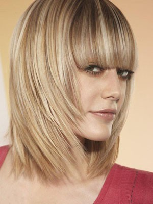 Glamorous Remy Human Hair Capless Straight Wig