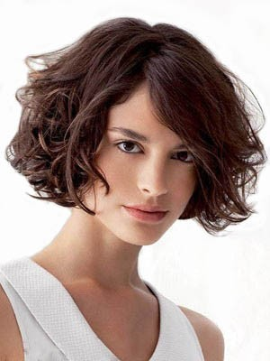 Comfortable Remy Human Hair Wavy Capless Wig