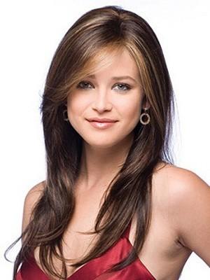 Magnificent 16 Inches Soft Layers Lace Front Human Hair Wig