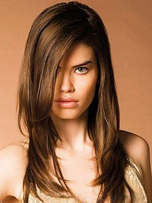 Striking Remy Human Hair Straight Capless Wig