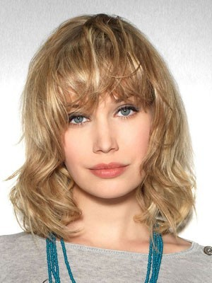 Gorgeous Remy Human Hair Wavy Lace Front Wig