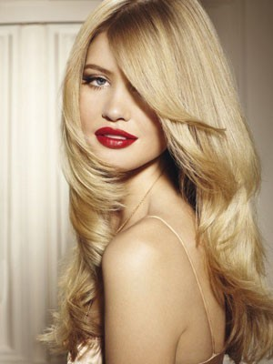 Gorgeous Human Hair Lace Front Long Wig