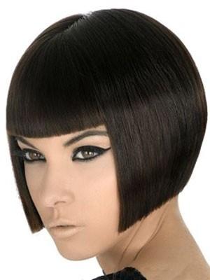 Durable Capless Human Hair Straight Wig