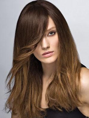 Popular Capless Long Human Hair Wig