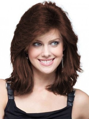 Stunning Style Human Hair Lace Front Womens Wig