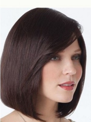 Natural Human Hair Straight Lace Front Wig