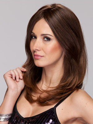 Good Looking Human Hair Straight Capless Wig