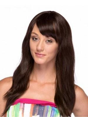 Popular Human Hair Straight Capless Wig