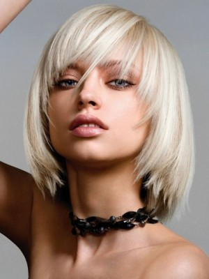 Gorgeous Remy Human Hair Straight Capless Wig