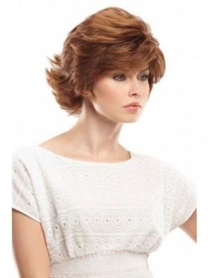 Marvelous Human Hair Wavy Capless Wig