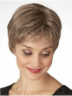 Durable Remy Human Hair Straight Capless Wig
