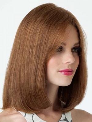 Fashion Shoulder Skimming Bob Human Hair Wig