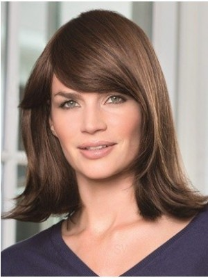 Affordable Capless Human Hair Straight Wig