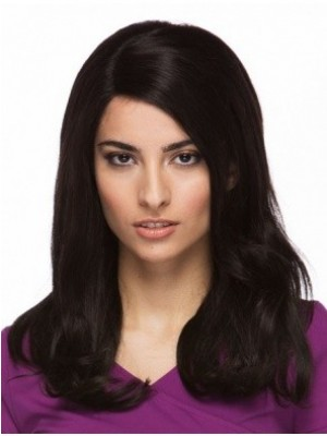 Marvelous Capless Human Hair Wavy Wig