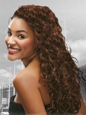 Perfect Full Curly Lace Wig For Woman
